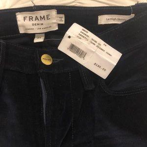 Frame Denim Corduroy Pants size 24